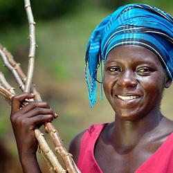Women farmers, Liberia