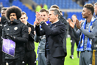 Football - 2018 / 2019 Premier League - Cardiff City vs. Leicester City<br /> <br /> Leicester City manager Claude Puel after the game in Leicster's 1st match since the death of Vichai Srivaddhanaprabha, at Cardiff City Stadium.<br /> <br /> COLORSPORT/WINSTON BYNORTH
