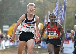27-11-2011 ATLETIEK: NK CROSS 53e WARANDELOOP: TILBURG<br /> Steffen Uliczk GER and Abdi Nageeye (U23) AA Drink<br /> ©2011-FotoHoogendoorn.nl
