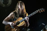 Swiss singer-songwriter Sophie Hunger at Haldern Pop Festival