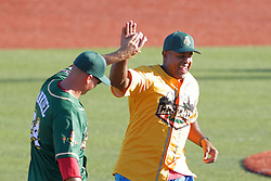 29 July 2017: Rick Ankiel and Brian Jordan  - Legends Baseball game sponsored by the Normal CornBelters at Corn Crib Stadium on the campus of Heartland Community College in Normal Illinois