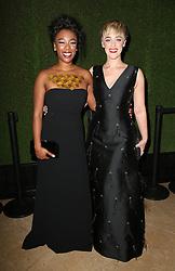7 January 2018 -  Beverly Hills, California - Samira Wiley, Lauren Morelli. 75th Annual Golden Globe Awards_Roaming held at The Beverly Hilton Hotel. Photo Credit: Faye Sadou/AdMedia