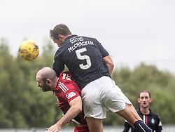 Falkirk's David McCracken. Falkirk 2 v 0 Ayr, Scottish Championship game played 24/9/2016 at The Falkirk Stadium .