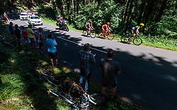 05.07.2017, Altheim, AUT, Ö-Tour, Österreich Radrundfahrt 2017, 3. Etappe von Wieselburg nach Altheim (226,2km), im Bild Peter Kusztor (HUN, Amplatz BMC), Jan Tratnik (SLO, CCC Sprandi Polkowice), Maximilian Hammerle (AUT, Team Vorarlberg) // Peter Kusztor (HUN, Amplatz BMC), Jan Tratnik (SLO, CCC Sprandi Polkowice), Maximilian Hammerle (AUT, Team Vorarlberg) during the 3rd stage from Wieselburg to Altheim (199,6km) of 2017 Tour of Austria. Altheim, Austria on 2017/07/05. EXPA Pictures © 2017, PhotoCredit: EXPA/ JFK