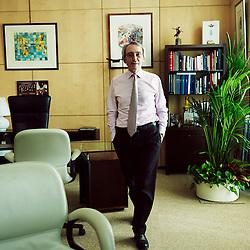 PARIS, OCTOBER 25, 2012. Pierre Pringuet, Pernod-Ricard Group's CEO in his office, Paris 16e. Photo: Antoine Doyen