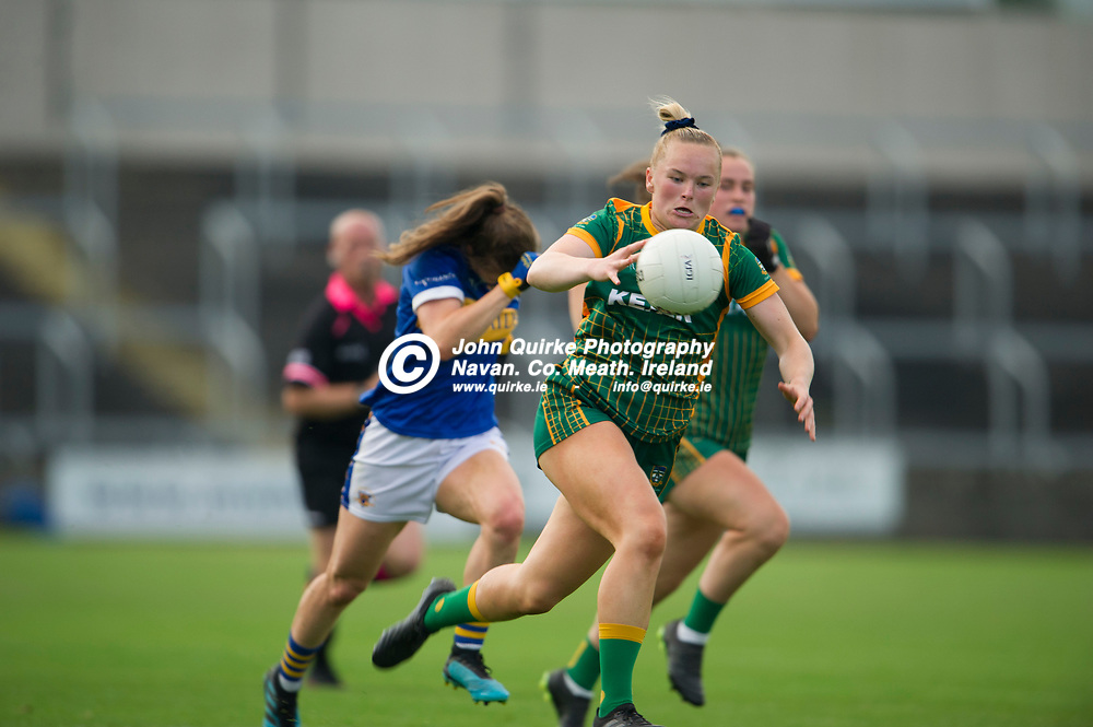 23-07-21. Meath v Tipperary - LGFA All-Ireland Senior Championship - Group 3 Round 2 at O'Moore Park, Portlaoise.<br /> Vikki Wall, Meath in action against Tipperary in the LGFA All-Ireland Senior Championship.<br /> Photo: John Quirke / www.quirke.ie<br /> ©John Quirke Photography, 16 Proudstown Road, Navan. Co. Meath. (info@quirke.ie / 046-9028461 / 087-2579454).