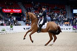 Lutkemeier Fabienne, GER, D'Agostino FRH<br /> Gothenburg Horse Show FEI World Cups 2017<br /> © Hippo Foto - Stefan Lafrentz<br /> 24/02/17