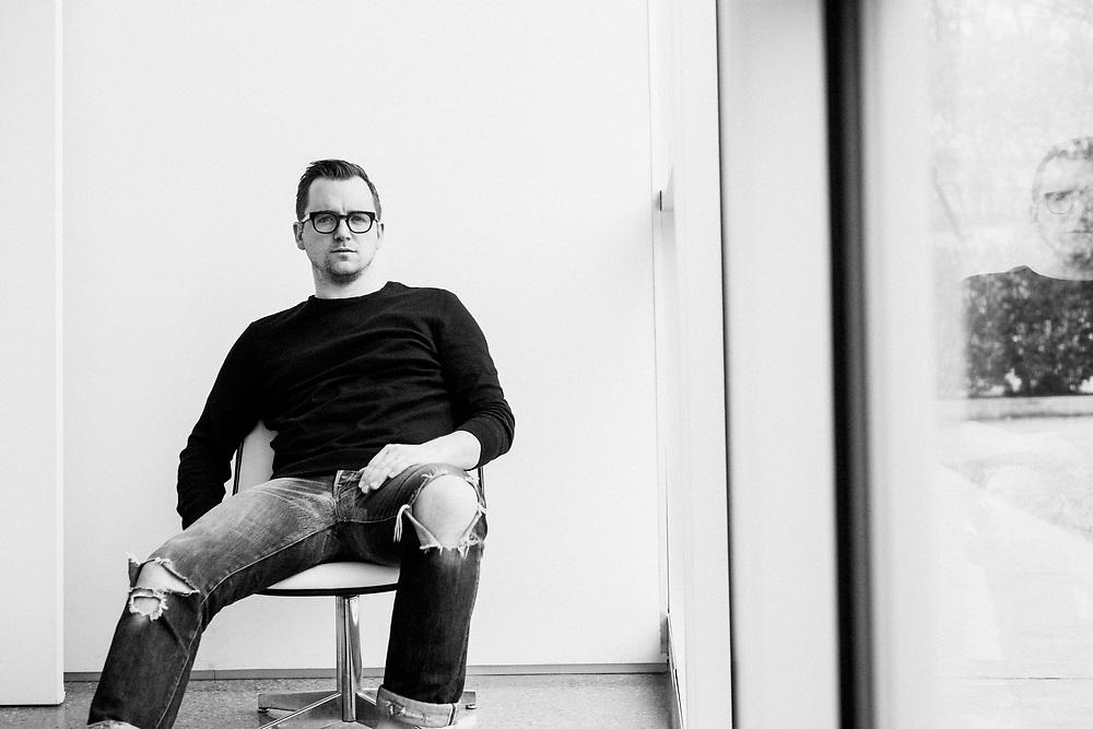 BIRMINGHAM, AL –MARCH 3, 2019: Designer and Creative Director David Blumberg.