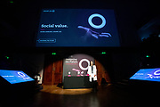 Hoare Lea event at The Royal Institution, hosted by Robert Llewellyn.