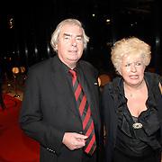 NLD/Hilversum/20061201 - Opening Nederlands Instituut voor Beeld en Geluid, Joop van Zijl en partner Joke Koreman