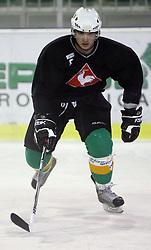 Igor Cvetek at second ice hockey practice of HDD Tilia Olimpija on ice in the new season 2008/2009, on August 19, 2008 in Hala Tivoli, Ljubljana, Slovenia. (Photo by Vid Ponikvar / Sportal Images)
