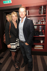 A party to promote the exclusive Puntacana Resort & Club - the Caribbean's Premier Golf & Beach Resort Destination, was held at The Groucho Club, 45 Dean Street London on 12th May 2010.<br /> <br /> Picture shows:-The HON.TANYA HAMILTON-SMITH and JAMIE RICHARDS