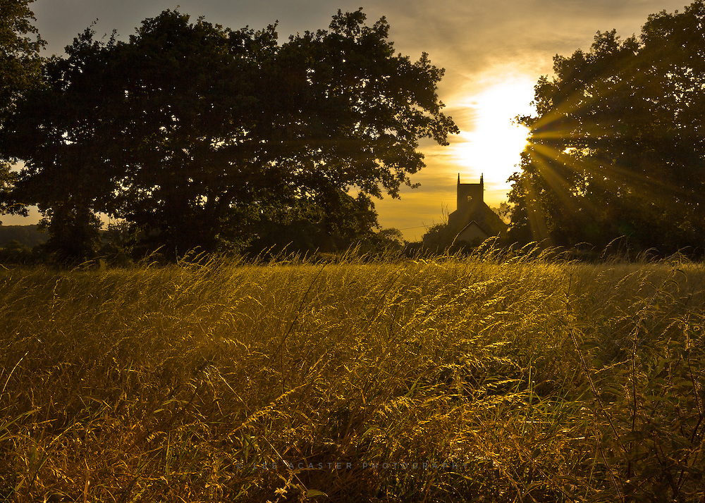 Found a nice viewpoint of Redgrave Church in Suffolk.