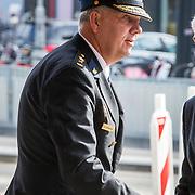 NLD/Amsterdam/20171014 - Besloten herdenkingsdienst overleden burgemeester Eberhard van der Laan, Pieter-Jaap Aalbersberg