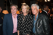 LORD ANDREW LLOYD WEBBER; LADY MADELEINE LLOYD WEBBER; NICKY HASLAM, The launch of Nicky Haslam for Oka. Oka, 155-167 Fulham Rd. London SW3. 18 September 2013.