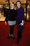 Bridget Maasland lanceert nieuwe kledinglijn Bridget Daily in het World Fashion Centre Amsterdam. <br /> <br /> Op de foto:  Gallyon van Vessem en Selma van Dijk