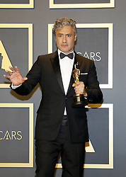 Taika Waititi at the 92nd Academy Awards - Press Room held at the Dolby Theatre in Hollywood, USA on February 9, 2020.