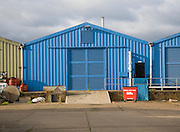 Industrial buildings on former USAF Bentwaters base, Rendlesham, Suffolk, England