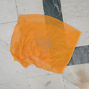 Beggards leave a cloth for people to leave offerings of grains of wheat, at the Jagdish Hindu temple. Visit of  Udaipur (city of lakes), often called the Venice of the East.