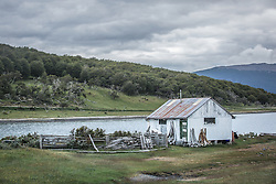 Estância Harberton fundada em 1886 por Thomas Bridges na beira do Canal de Beagle - primeira estância a se estabelecer na Terra do Fogo. FOTO: Jefferson Bernardes/ Agência Preview