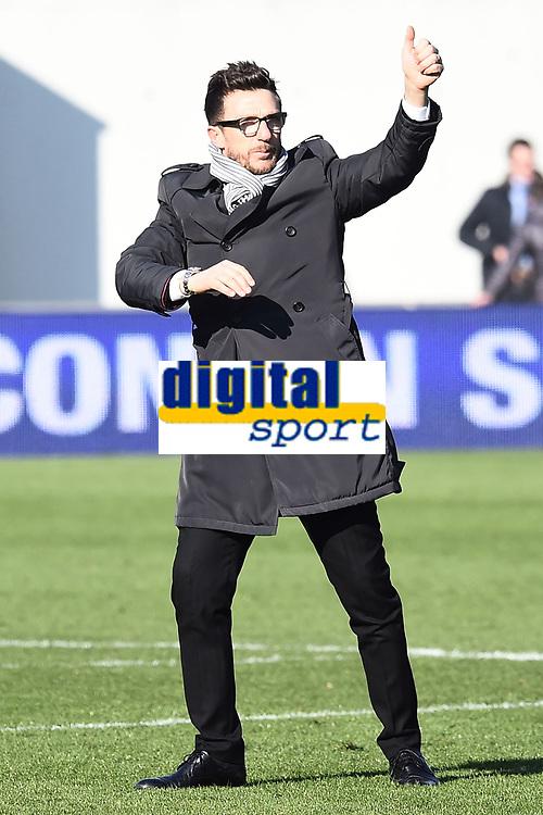Eusebio Di Francesco Sassuolo <br /> Reggio Emilia 01-02-2015 Mapei Stadium Football Calcio Serie A 2014/2015 Sassuolo - Inter foto Image Sport / Insidefoto