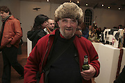 Richard Niman, TWO LEGS BAD, FOUR LEGS GOOD, Jake & Dinos Chapman. PARADISE ROW, 17 Hereford Street. London E2 . 9 February 2007.  -DO NOT ARCHIVE-© Copyright Photograph by Dafydd Jones. 248 Clapham Rd. London SW9 0PZ. Tel 0207 820 0771. www.dafjones.com.