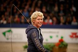 Van der Peijl Alexandra, NED<br /> KWPN Stallionshow - 's Hertogenbosch 2018<br /> © Hippo Foto - Dirk Caremans<br /> 01/02/2018