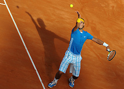 01-05-2010 TENNIS: ATP MASTERS: ROME<br /> Rafael Nadal (ESP)<br /> ©2010- FRH nph / A. Baldassarre