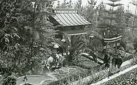 1918 The Bernheimer Residence. Now Yamashiro Restaurant in Hollywood