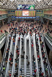 Travellers during Chinese New Year 2009 at Beijing West Railway Station