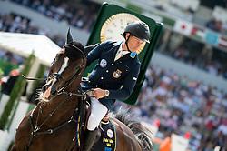 Rolf Goran Bengtsson, (SWE), Casall Ask - Show Jumping Final Four - Alltech FEI World Equestrian Gamesª 2014 - Normandy, France.<br /> © Hippo Foto Team - Jon Stroud<br /> 07-09-14