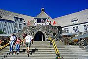 Image of Timberline Lodge on Mount Hood, Oregon, Pacific Northwest by Andrea Wells