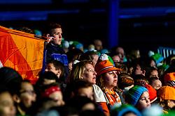 11-01-2019 NED: ISU European Short Track Championships 2019 day 1, Dordrecht<br /> Entertainment, sfeer, children, school, Orange
