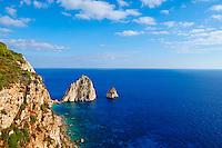 Grece, iles Ioniennes, ile de Zante, Cape Keri // Greece, Ionian island, Zante island, Keri Cap