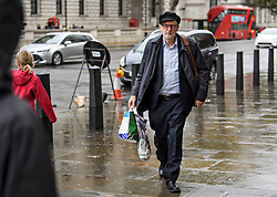 © Licensed to London News Pictures. 21/10/2019. London, UK. Labour Party Leader JEREMY CORBYN is seen in Westminster, London. Last week Parliament sat on a Saturday for the first time since 1982, but failed to vote on Boris Johnson's new Brexit deal. Photo credit: Ben Cawthra/LNP