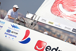 Peter Gilmour. Portimao Portugal Match Cup 2010. World Match Racing Tour. Portimao, Portugal. 26 June 2010. Photo: Gareth Cooke/Subzero Images