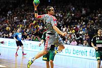 BILDET INNGÅR IKEK I FASTAVTALER. ALL NEDLASTING BLIR FAKTURERT.<br /> <br /> Håndball<br /> Tyskland<br /> Foto: imago/Digitalsport<br /> NORWAY ONLY<br /> <br /> Kent Robert TØNNESEN ( NOR / 15 Fuechse Berlin ) - Aktion - Spielszene - Querformat - quer - horizontal - Event / Veranstaltung: Fuechse Berlin vs. TSV Hannover Burgdorf / 10.Spieltag / Hauptrunde / DKB Handball Bundesliga Saison 2015/16 - Location / Ort: Max Schmeling Halle Berlin