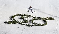 27.12.2016, Schattenbergschanze, Oberstdorf, GER, FIS Weltcup Ski Sprung, Vierschanzentournee, Oberstdorf, Wertungsdurchgang, im Bild Severin Freund (GER) // Severin Freund of Germany during his Competition Jump for the Four Hills Tournament of FIS Ski Jumping World Cup at the Schattenbergschanze in Oberstdorf, Germany on 2016/12/27. EXPA Pictures © 2016, PhotoCredit: EXPA/ Peter Rinderer