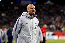 May 15, 2019 - Foxborough, MA, U.S. - FOXBOROUGH, MA - MAY 15: Chelsea second assistant coach Marco Ianni during the Final Whistle on Hate match between the New England Revolution and Chelsea Football Club on May 15, 2019, at Gillette Stadium in Foxborough, Massachusetts. (Photo by Fred Kfoury III/Icon Sportswire) (Credit Image: © Fred Kfoury Iii/Icon SMI via ZUMA Press)