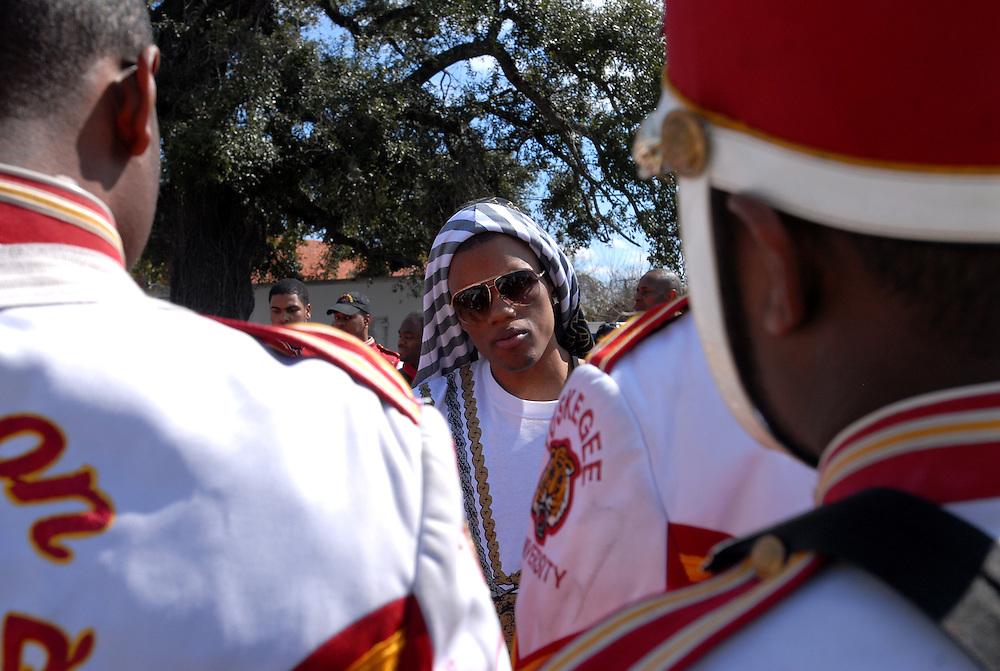 Zone 4/Interscope Records recording artist, Rich Boy in Las Vegas, Nevada and Mobile, Alabama February, 2007....Hasain Rasheed Photography 2007Island Def Jam recording artist, Fabolous in New York  February 22, 2007....Hasain Rasheed Photography 2007