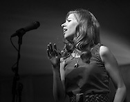 Rachael Price, lead singer for the Lake Street Dive, Sisters Folk Festival 2013