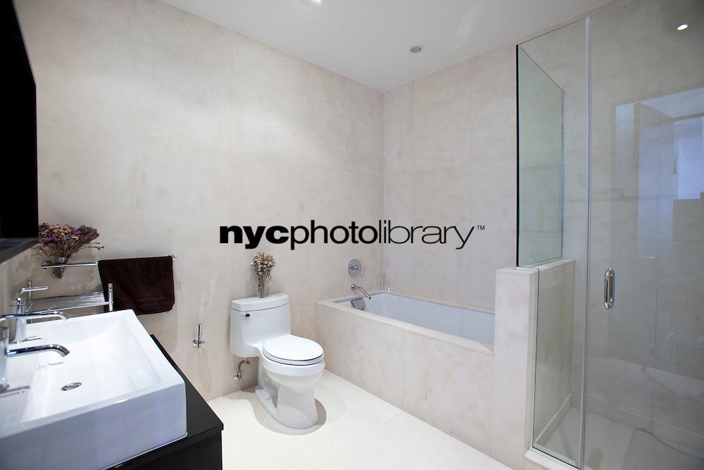 Bathroom at 254 Park Avenue South
