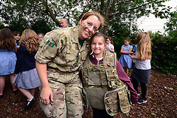 Bristol Rovers Community department and the Armed forces deliver sessions for primary school children at Shirehampton Primary School as part of the Armed forces day - Mandatory by-line: Dougie Allward/JMP - 23/06/2017 - SPORT - Shirehampton Primary School - Bristol, England - Armed Forces Day
