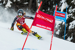 Cassidy Gray (CAN) during the Ladies' Giant Slalom at 57th Golden Fox event at Audi FIS Ski World Cup 2020/21, on January 16, 2021 in Podkoren, Kranjska Gora, Slovenia. Photo by Vid Ponikvar