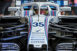 April 6, 2018 - Sakhir, Bahrain - Motorsports: FIA Formula One World Championship 2018, Grand Prix of Bahrain, , #35 Sergey Sirotkin (RUS Williams Mercedes, Mercedes) (Credit Image: © Hoch Zwei via ZUMA Wire)