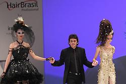 Hugo Moser durante o Show Celebration, na HAIR BRASIL 2011 - 10 ª Feira Internacional de Beleza, Cabelos e Estética, que acontece de 02 a 05 de abril no Expocenter Norte, em São Paulo. FOTO: Jefferson Bernardes/Preview.com