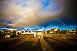Rainbow in Falkirk..