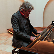NLD/Blaricum/20120329 - Opname EK CD Ferdi Bolland, Bennie Jolink achter de piano
