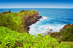 Kilauea Lighthouse, Kilauea Point National Wildlife Refuge, Kauai, Hawaii, Pacific Ocean
