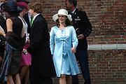His highness prince Pieter-Christiaan of Oranje Nassau, of Vollenhoven and Ms drs. A.T. van Eijk get married  in the Great or St Jeroens Church in Noordwijk. <br /> <br /> <br /> Zijne Hoogheid Prins Pieter-Christiaan van Oranje-Nassau, van Vollenhoven en mevrouw drs. A.T. van Eijk treden in het (kerkelijk) huwelijk in de Grote St. Jeroenskerk in Noordwijk<br /> <br /> On the photo/Op de foto:<br /> <br /> <br /> <br /> Zijne Hoogheid Prins Bernhard van Oranje-Nassau, van Vollenhoven <br /> Hare Hoogheid Prinses Annette van Oranje-Nassau, van Vollenhoven